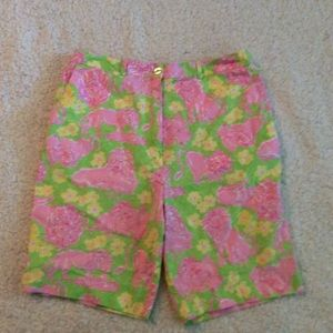 Lilly Pulitzer women's lion print shorts size 10